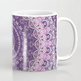 Purple Lace Mandala Coffee Mug