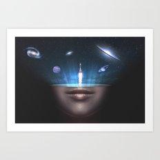 Universal Thoughts Art Print