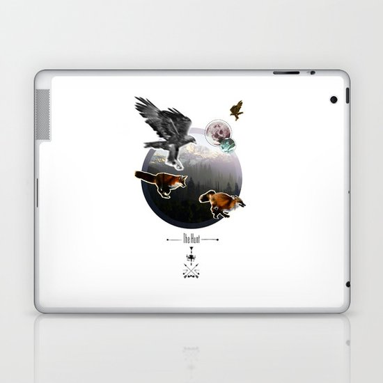 The Hunt. Laptop & iPad Skin