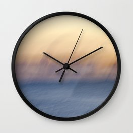 Sunset Ghosts Wall Clock