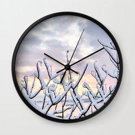Snowset Wall Clock