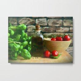 Mediterranean Kitchen Metal Print