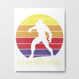 The Panther King Metal Print