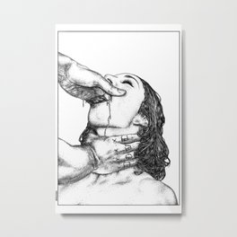 asc 716 - Le désir secret (True love) Metal Print