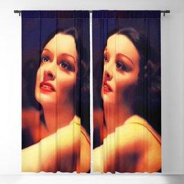 Gail Patrick, Vintage Acress Blackout Curtain