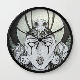 Priestess Nocturna Wall Clock