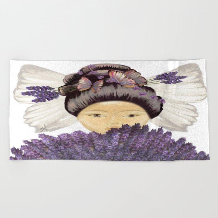 Lavender Beach Towel