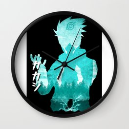 Minimalist Silhouette Teacher Wall Clock