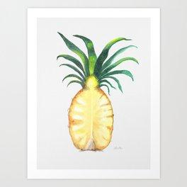 Pineapple Crown Art Print