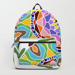 Geometric circle element Backpack