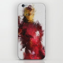 Made of Iron iPhone Skin