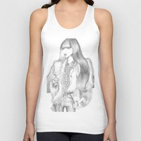 drink Tank Tops featuring Drink by Giulia Moscatelli