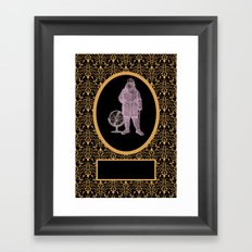 To The Edge Of The End And Back Framed Art Print