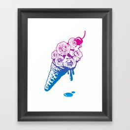 Tastes Like Roses Framed Art Print