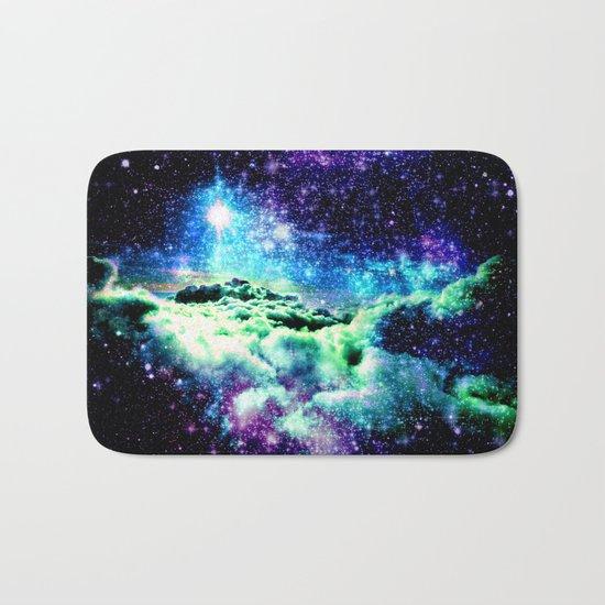 Galaxy Clouds Bath Mat