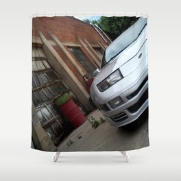 300zx Fairlady Z rustic Shower Curtain