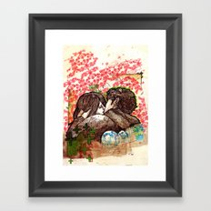 Spring that hasn't come yet Framed Art Print