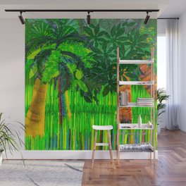 Palm's Rainbow Roots Wall Mural