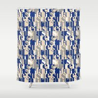 military Shower Curtains featuring Military by antonio&marko
