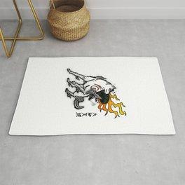 Amaterasu Ink Rug