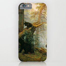 """Ivan Shishkin """"Morning in a Pine Forest"""" iPhone Case"""