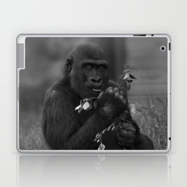 Cheeky Gorilla Lope Mono Laptop & iPad Skin