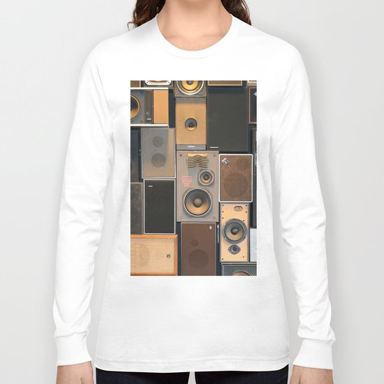 Audio Equipment Long Sleeve T-shirt