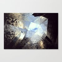 mirror Canvas Prints featuring mirror by Nat Alonso