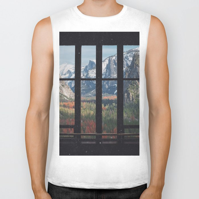 Yosemite Window Biker Tank