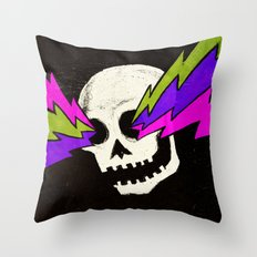 Variations on a Skull Part One Throw Pillow