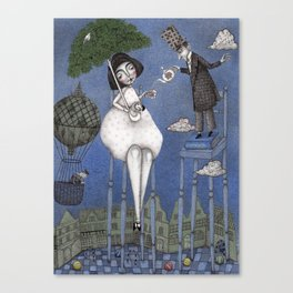 Alice So Tall Canvas Print