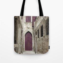 Plum Door - Venice, Italy Tote Bag