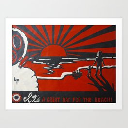 Greatest Threat to Humanity: Ourselves Art Print