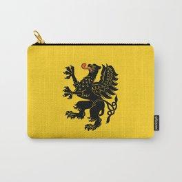 flag of pomorskie or pomerania Carry-All Pouch