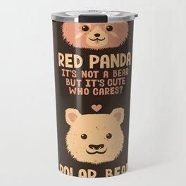Greatest Bears Insert your Bear Travel Mug