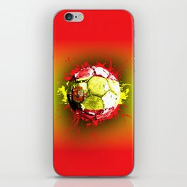 football  spain iPhone Skin