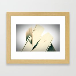 urban structures Framed Art Print