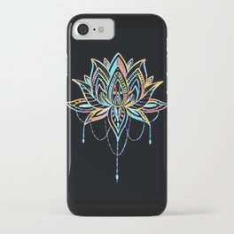 Pastel Lotus iPhone Case