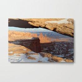 Mesa Arch, Canyonlands National Park Metal Print