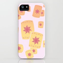 Lost Princess Lanterns iPhone Case