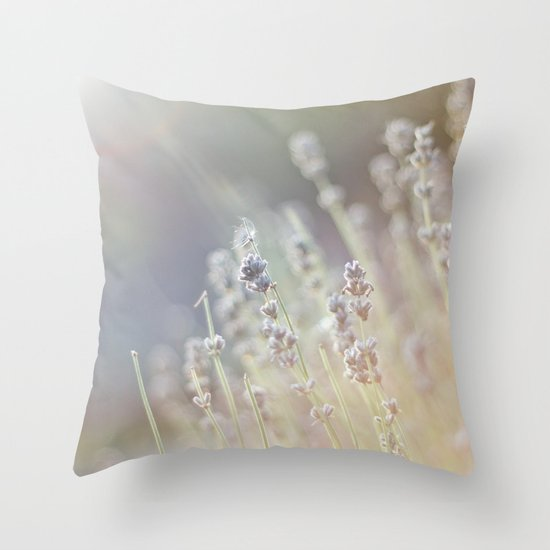 A touch of life Throw Pillow