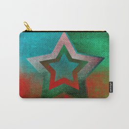 Suprematist Star Carry-All Pouch