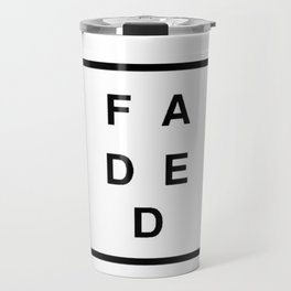 FADED SQUARED Travel Mug
