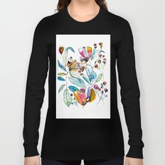 Flowers in the Wind Long Sleeve T-shirt