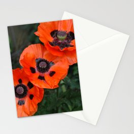Three Poppies Stationery Cards
