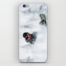 Travis Rice #2 iPhone & iPod Skin