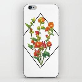 Emory Desert Mallow iPhone Skin