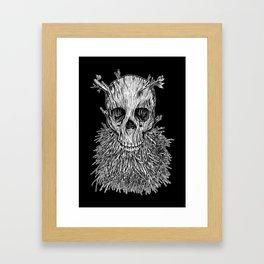 Lumbermancer B/W Framed Art Print