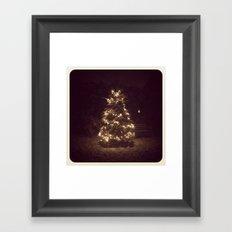 Holiday Tree Framed Art Print