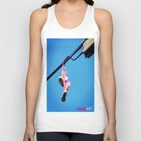 sneakers Tank Tops featuring DISCO SNEAKERS  by Punkboy Marti